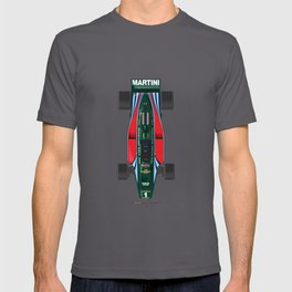 Outline Series N.º2, Mario Andretti, Lotus 80-Ford 1980 T-shirt