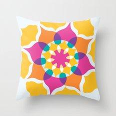 Majestic Swirl Throw Pillow