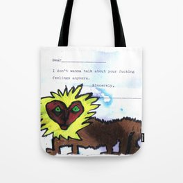 Your Feelings Tote Bag