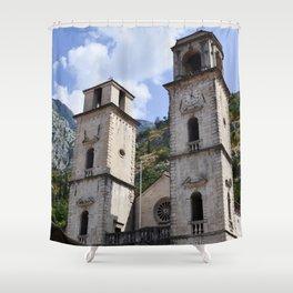 European Clockwork Shower Curtain