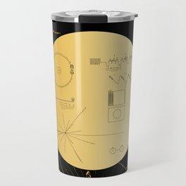 Voyager 1 Golden Record #3 Travel Mug
