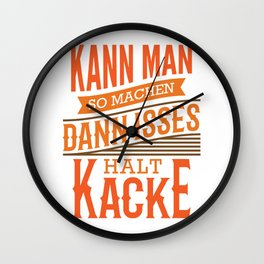 You can Do It That Way Funny Mechanic Office Gift Wall Clock