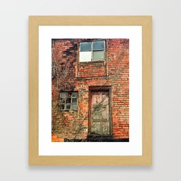 Echoes of an Industrial Past. Framed Art Print