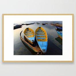 Boats Gerahmter Kunstdruck