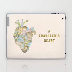 A Traveler's Heart Laptop & iPad Skin