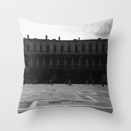 Piazza San Marco Throw Pillow