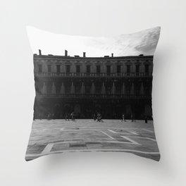 Piazza San Marco Throw Pillow