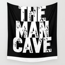 The Man Cave - inverse Wall Tapestry
