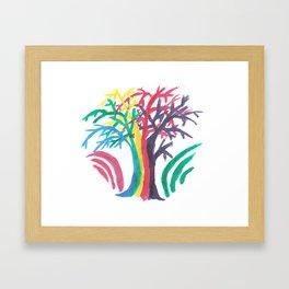 Tree of Strife Framed Art Print