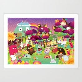 Jungle Jammin Art Print