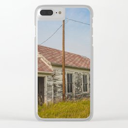 School, Arena, North Dakota 2 Clear iPhone Case
