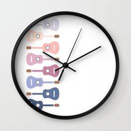 Music is devotion Wall Clock