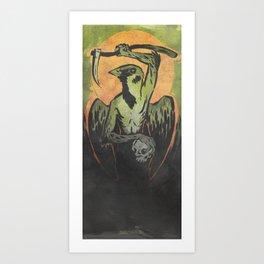 Sparrow Necromancer Art Print