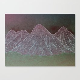 Range - Original Canvas Print