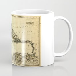 Map of the West Indies and Mexican Gulf (1806) Coffee Mug