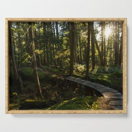 North Shore Trails in the Woods Serving Tray