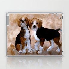 Young Beagle Laptop & iPad Skin
