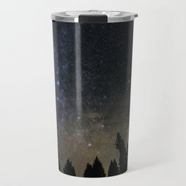 Orionids over Big Sky Travel Mug