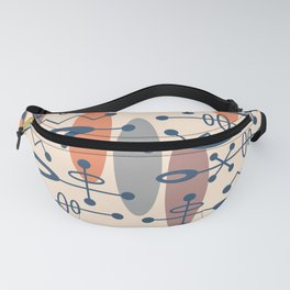 Mid Century Modern Radioactive Surfer 337 Fanny Pack