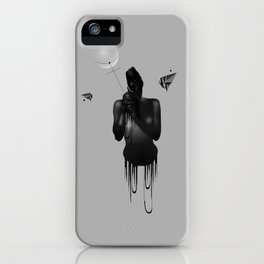 It is Only the Sacred Things that are Worth Touching 2 iPhone Case
