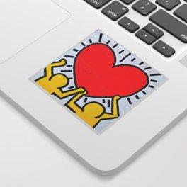 Keith Haring Sticker