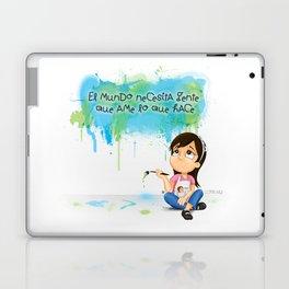 Gente que ame lo que hace Laptop & iPad Skin