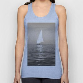 Ship on the Nile Unisex Tank Top