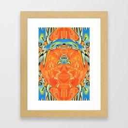 Blue Child Framed Art Print