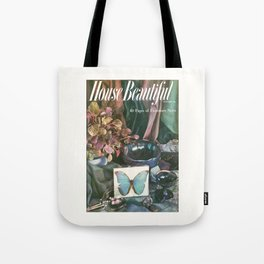 House Beautiful October 1954 Tote Bag