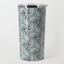 Tessellating monster pattern Travel Mug