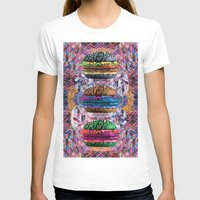 holographic T-shirts featuring black burger doom zone by STORMYMADE