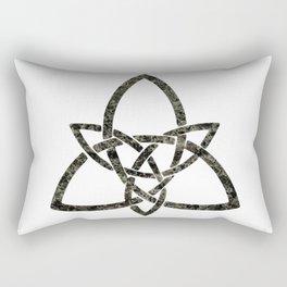 Rustic Celtic Knot Rectangular Pillow