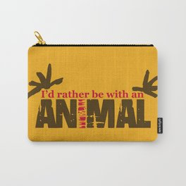 Animal Grunge Jam Carry-All Pouch