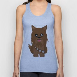 Chewbacca the Yorkie Unisex Tank Top