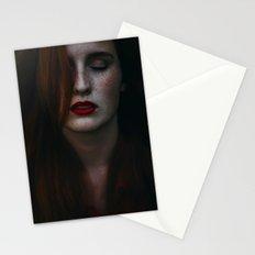 Dark freckle Stationery Cards