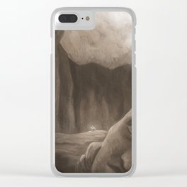 Ruins Clear iPhone Case