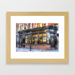 The White Lion Covent Garden London Framed Art Print