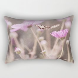 Chasing Butterflies Rectangular Pillow