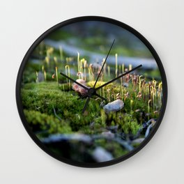 Miniature Landscape Wall Clock