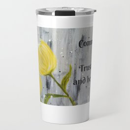 Commit your way to Yahweh. Trust also in him,  and he will do this Psalm 37:5 Travel Mug