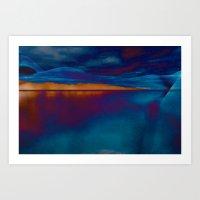 skyline Art Prints featuring Skyline by Stephen Linhart