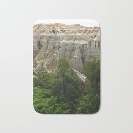 Badlands View From The Rim Road Bath Mat