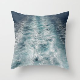 Sea Trails 3 Throw Pillow