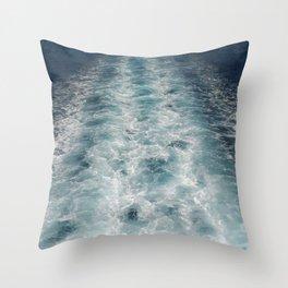 Sea Trails 3 Throw Pillow