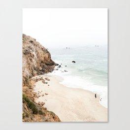 Malibu California Beach Canvas Print