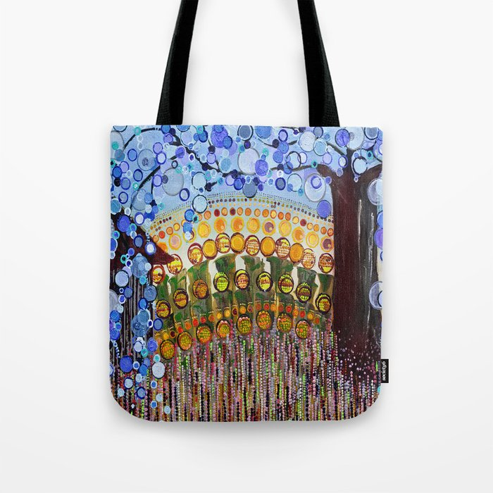:: Indiana Blue Willow :: Tote Bag