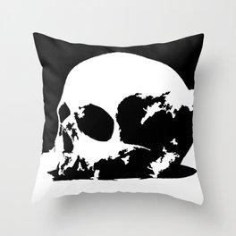 Skull dual Throw Pillow