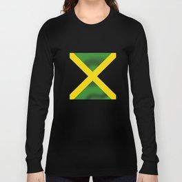 Jamaican Flag Long Sleeve T-shirt