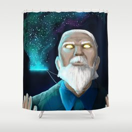 An Entire Universe Shower Curtain