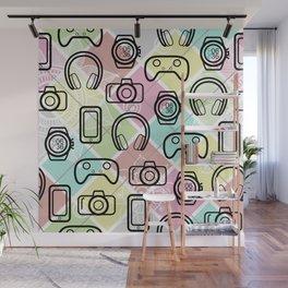 Gadgety Wall Mural